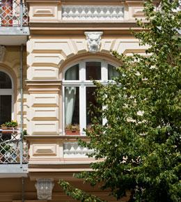 Fassadendetail Rykestrasse 44